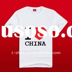 High quality fashion style t shirt with custom printing