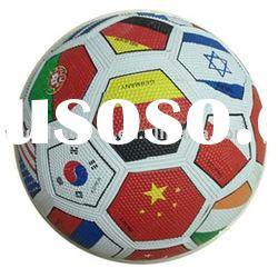 High quality rubber football & soccer ball