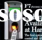 Hot-sale of TCP/IP fingerprint door access control HF-F7