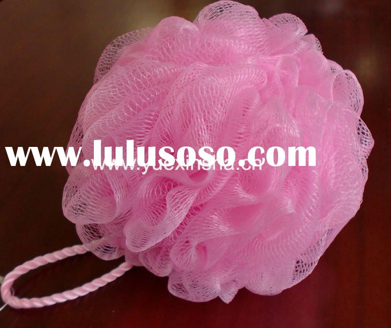 Mesh bath sponge, Shower Sponge, Bath Mesh ball