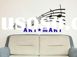Musical Notes Wall Decal Childrens Bedroom Living Room Wall Decor No.084
