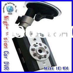 Night Vision Vehicle Car Camera DVR Video LED Recorder
