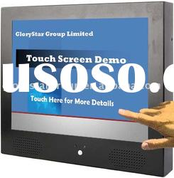 """TAD-151-TP 15"""" LCD Touch Screen Advertising Display"""