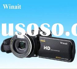 Winait's Max.16MP 5X Optical zoom 1080P HD Digital video camera with 600X ZOOM