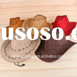 cheap purple orange Cowboy hat