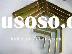 color zinc plated right-angle corner bracket
