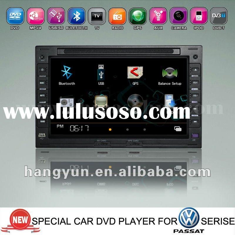 dvd car stereo for VW Passat b5/golf4 with gps/can bus/bluetooth/radio/tv/ipod/usb/sd/mp3/mp4