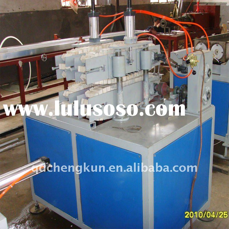 electrical pvc pipe making machine/pvc threading pipe making machine/plastic production line