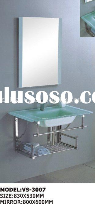 glass wash basin,bathroom furniture