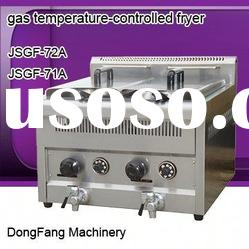 industrial deep fryer, Stainless Steel Counter Top Temperature-controlled gas fryer