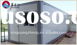 modified shipping container house as office or livng