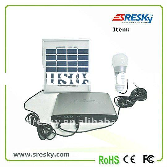 outdoor LED lightings solar system for small home