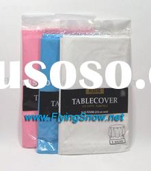 plastic table cover,plastic table cloth,tablecloth