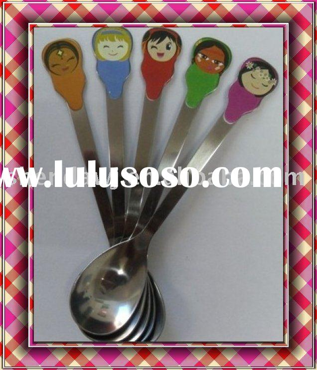 stainless steel spoon,baby spoon