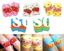 100% Cotton Baby Knee Pads, Children Knee Protector, Infant Knee Warmers