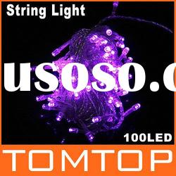 100 LED 10m String Light for Christmas Party Wedding Purple