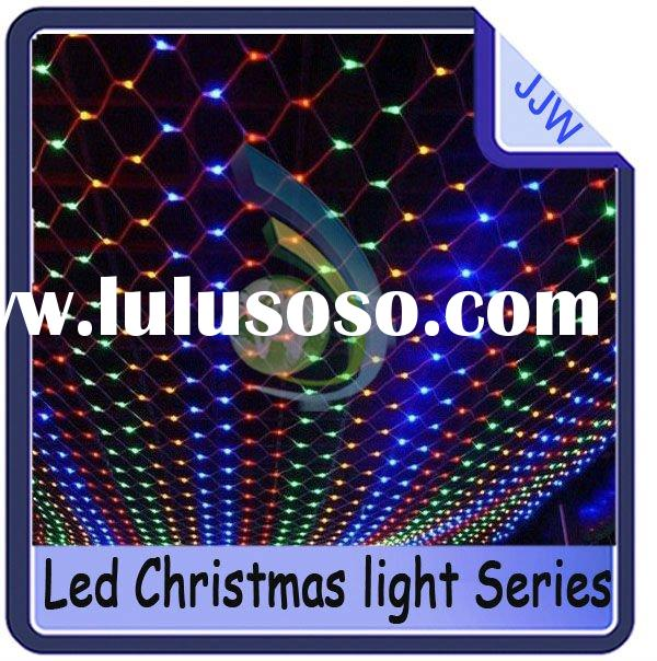 1.5m*1.5m 220v-250v 144leds led net light for Wedding Party ,LED Christmas lights,Halloween light