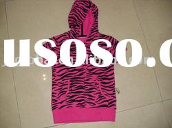 2011 autumn hot sale ! high quality factory price short sleeve girls fashion hoody