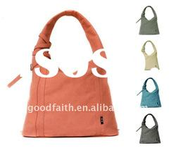 2011 fashion high quality canvas handbag /tote bag