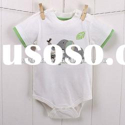 2012Summer new style organic cotton baby clothes