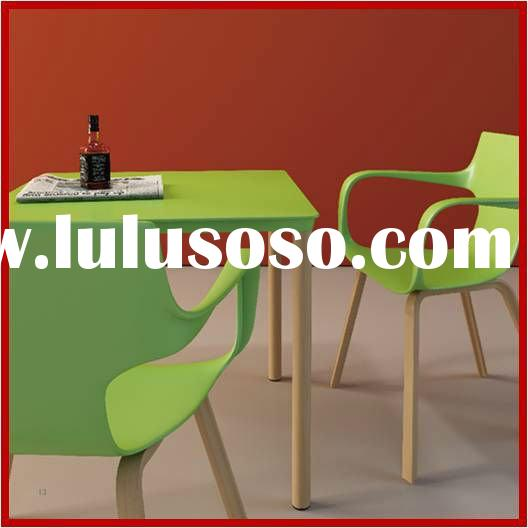 2012 Newest Design Wooden Base Leisure Chair And Table