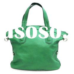 2012 newest fashion lady handbag in green color