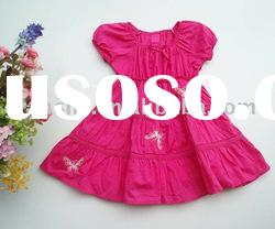 2012 summer baby girls party dresses