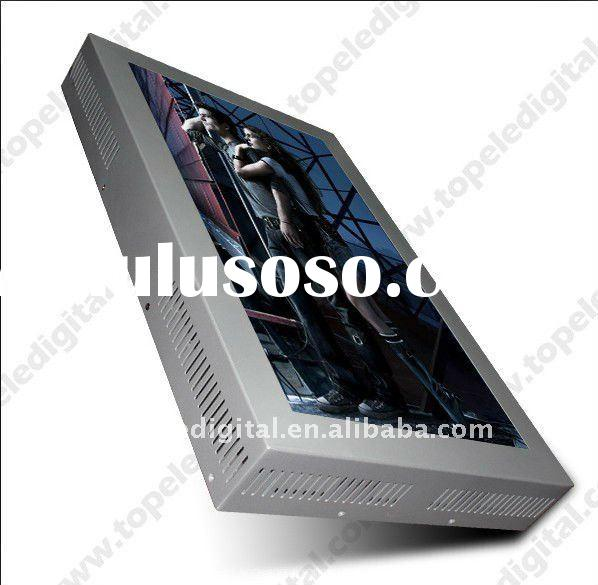 26 inch shop window/store lcd advertising monitor/display