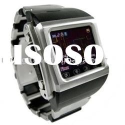 "2.1"" touch screen watch mobile phone MD-W600 with Tri-band and multi-languages"
