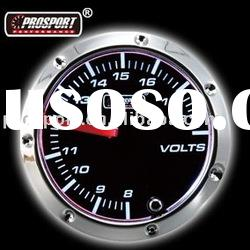 52mm Black Face Volt Gauge Auto Gauge (Auto Meter)