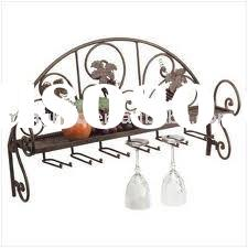 6row metal wine glass rack,glass washing rack,hanging wine glass racks
