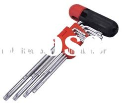 9pc Star Drive Hex Wrench Set
