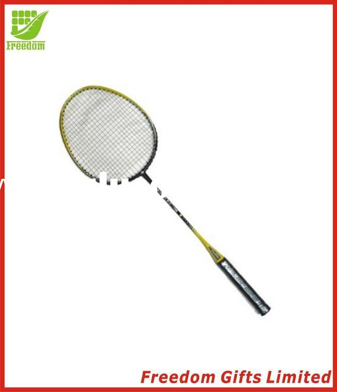 Advertising Logo Printed Badminton Racquet, Badminton Racket,Battledore