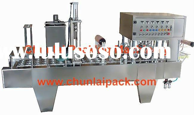BG60A-4C small plastic cup filling and sealing machine