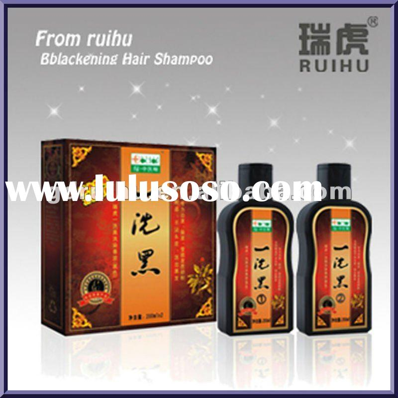 Black Hair Shampoo (dye hair fast)hair darkening shampoo