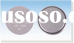 CR1220 Lithium Manganese Dioxide Button Cell Battery