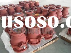 Cast Steel A216 WCB 2pcs Flanged Ball Valve
