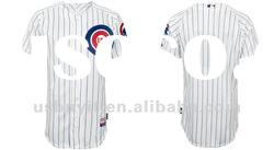 Chicago Cubs Baseball jerseys#Blank White jersey Authentic Mixed order free shipping