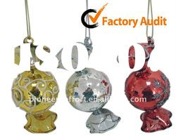 Christmas glass ball hanging ornaments, Candy shaped decoration