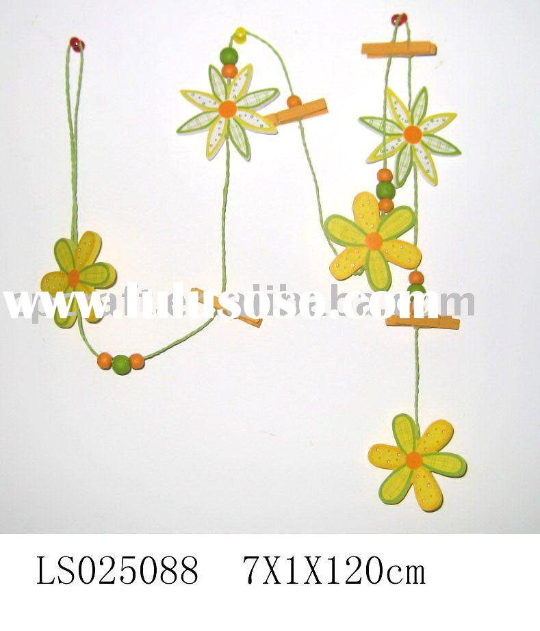 Craft decorative wood flower