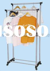 Double-Pole Clothes Rack Stand/Hanging Clothes Rack/Clothes Rack/Metal Rack/Cloth Rack