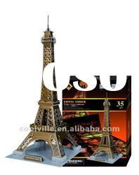 EDUCATIONAL TOYS EIFFEL TOWER 3D PUZZLE