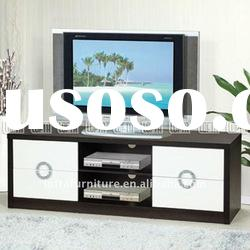 Flat panel furniture plasma tv stand with 4 drawer storage space as Console table