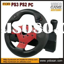For PS3 PS2 PC racing wheel controller for pc game