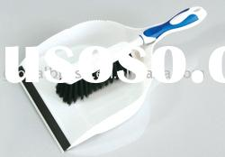 HQ0555 TPR handle plastic dustpan set/hand dustpan/dustpan with brush