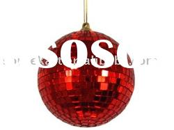 Handmade christmas tree ornament EPS ball with foam material