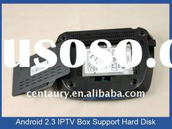IPTV set top box, (Flash 10.1, Wifi, P2P), IP STB, internet tv box