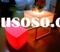 Modern bar stool/Home decoration table/ LED furniture coffee tables