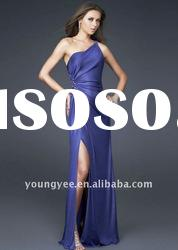 New style one shoulder fashion Evening Dress 2011, formal evening dress fashion 2012(ED10507)