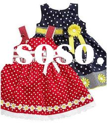 Newly children frocks designs for cotton fabric